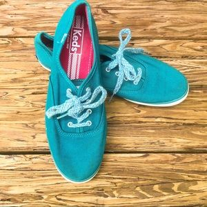 Keds Teal Blue Classic Sneakers Shoes 7.5